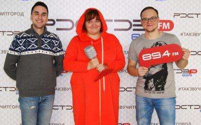 Оксана Силантьева на радио Ростов FM